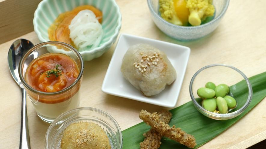 【About The Food/Dinner】家族のハレの日をイメージした創作郷土料理