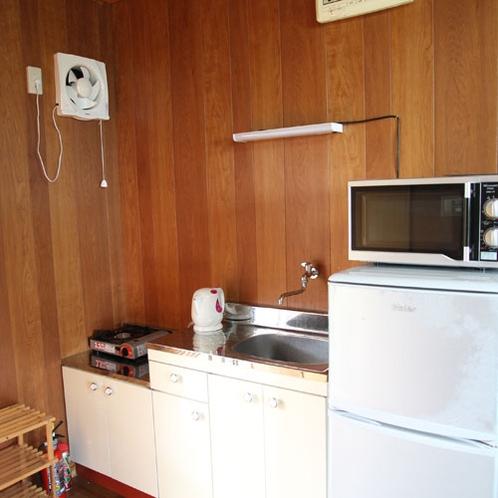 【客室】ミニキッチンで簡単なお食事のご準備も可能!