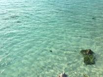 長浜の海の水面