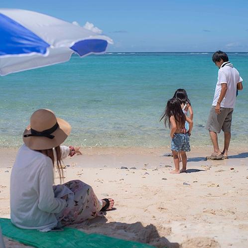 沖縄の海でマリンレジャーを満喫!