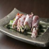食事 信州米豚のしゃぶしゃぶ