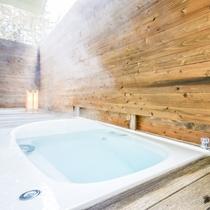 半露天風呂付スーペリアツインルーム お風呂