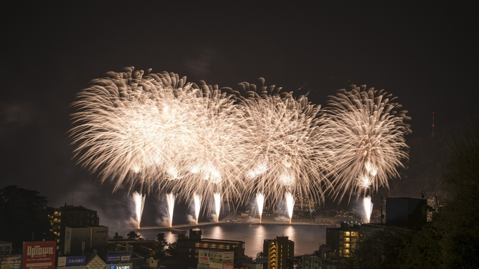 【花火大会】お日にち限定!屋上テラスから大輪の花火を望む穴場スポットで楽しい夜を。(素泊まり)