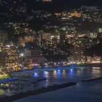 熱海城からの景色(夜景)