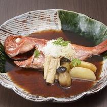 ご夕食:別注料理:金目鯛の煮つけ※イメージ