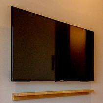 全客室に大型のソニー製フルハイビジョンTVを設置しております。