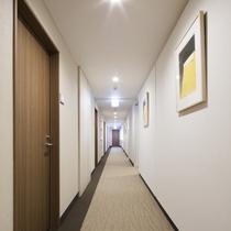 館内廊下~客室前~