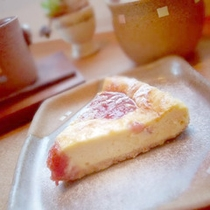 *【カフェ】旬の素材を使った手作りスイーツもおすすめです♪