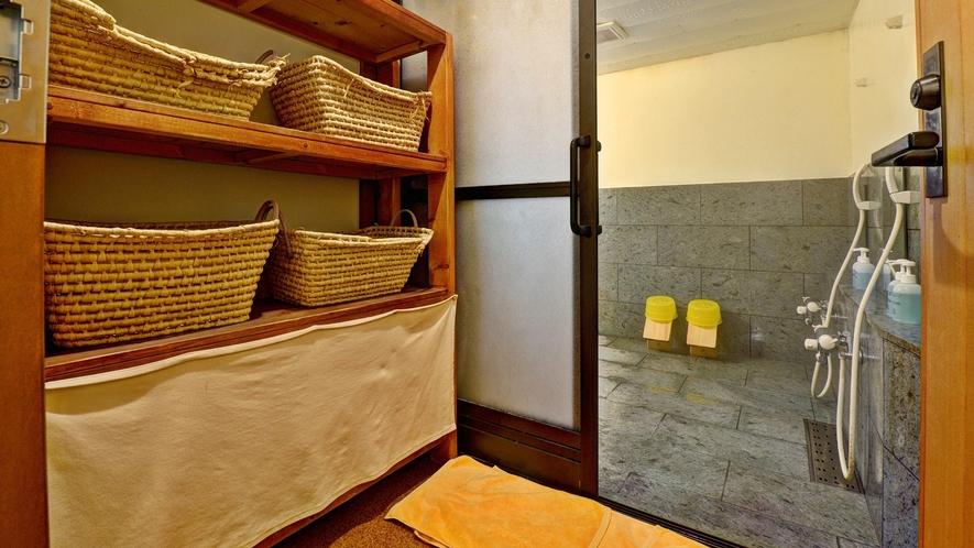 *貸切内風呂/1Fに、内風呂がございます。貸切利用でゆっくりお寛ぎいただけます。