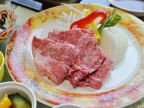 【夕食アップグレードプラン】道産和牛石焼きセット付