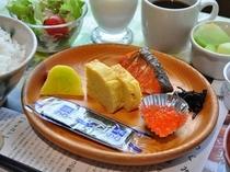 【朝食】朝からしっかりエネルギー補給!
