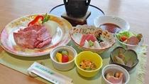 【夕食アップグレードプラン】厳選された食材をご堪能ください