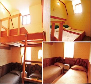 ◆スタンダード◆ 山小屋風ロフト  全室バス・トイレ付き