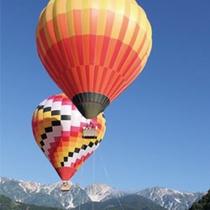 熱気球体験ご案内致します。