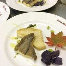 夕食(お魚料理)