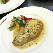 夕食(お肉料理)