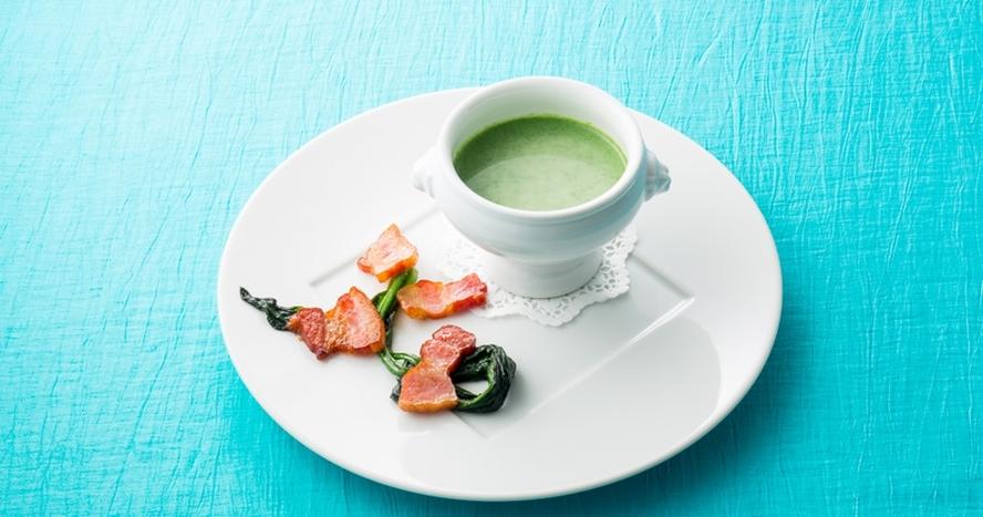 ディナーの一例 -スープ-