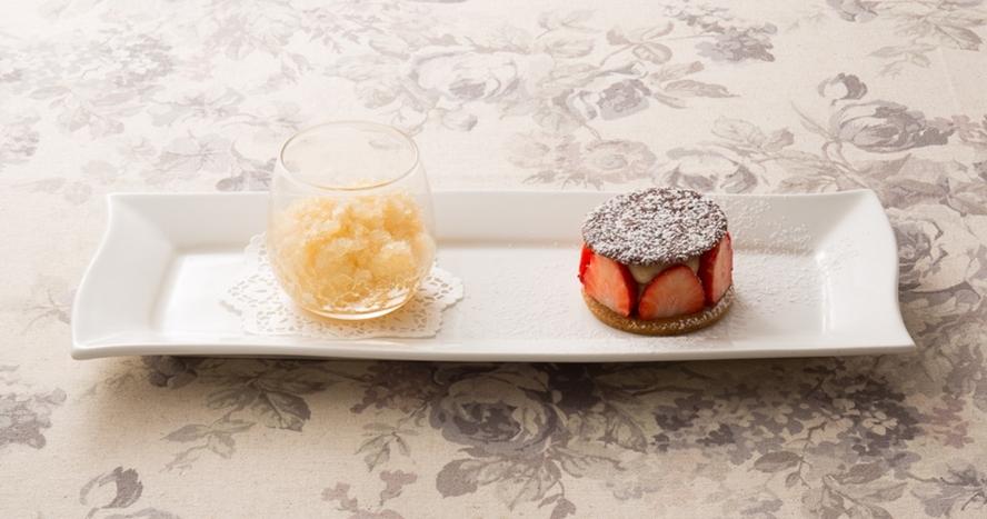 ディナーの一例 -デザート-