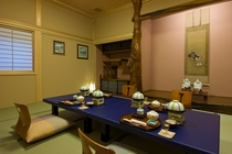 3階ご夕食用個室(一例)