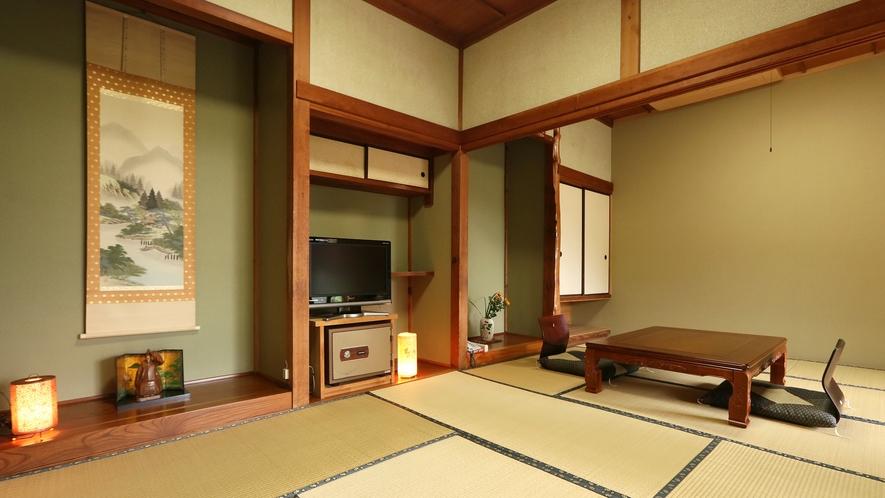 ■八重桜-yaezakura-■10.5畳*ごろんと身体を伸ばしたなら、日々の喧騒を忘れるお部屋。