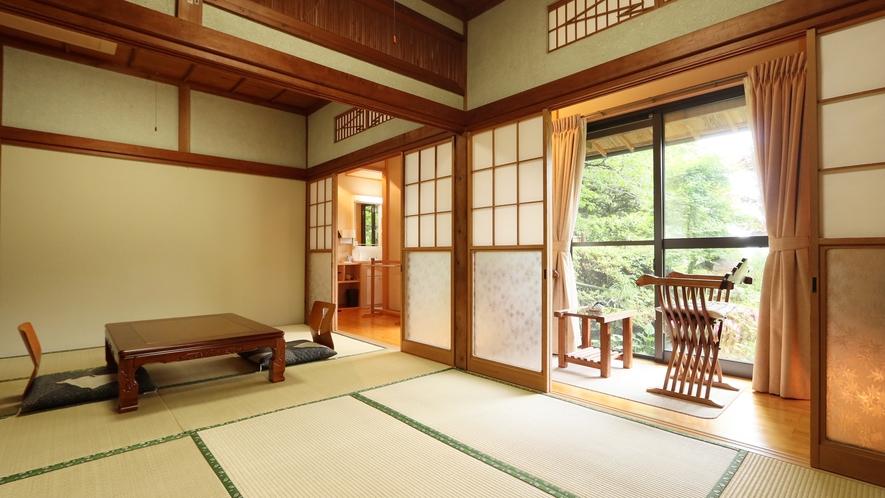 ■八重椿-yaetsubaki-■11畳*大山の四季を感じる瀟洒なお部屋。