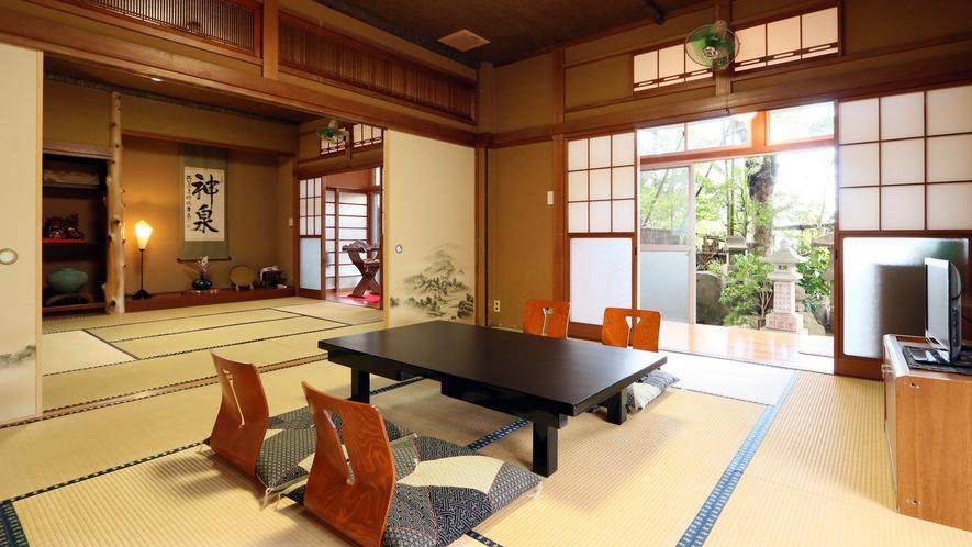 ◆南天-nanten-◆小さなお庭からの緑が心地良いお部屋です。