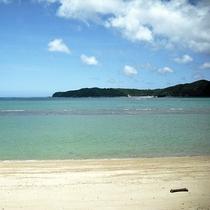 *東村ビーチ/2015年に新しく出来た一番近いビーチは、ファミリーにもお勧め☆(車で約5分)