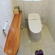 *トイレ/洗浄機能付き、洋式タイプが1ヶ所。