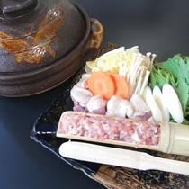 *赤城鶏のつみれ鍋/上州のブランド鶏を贅沢に使ったつみれ鍋