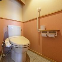 *【部屋】全室清掃の行き届いたトイレ付き部屋を御用意しております。