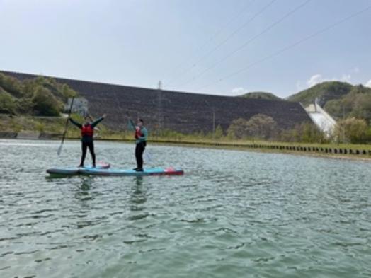 【カヌーor SUP体験プラン】1日3組限定|自然豊かな地域でアクティビティ《スタンダード2食付き》