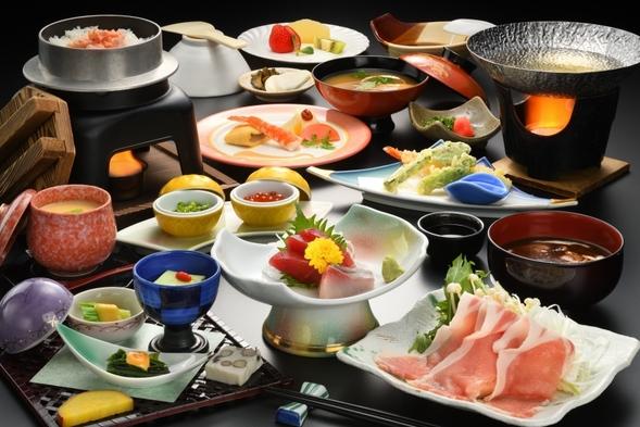 【夏旅セール】焼石連峰を望む露天風呂と奥州の旬の料理♪朝食はバイキング《スタンダード2食付き》