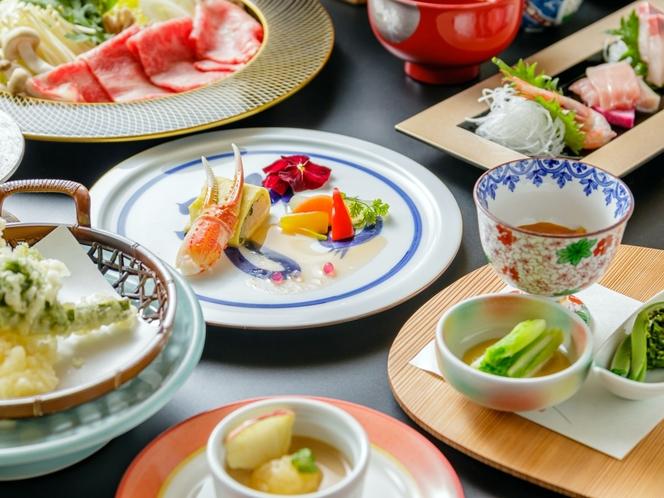 【お食事】《ご夕食》豪華・選べる前沢牛プラン(しゃぶしゃぶ)