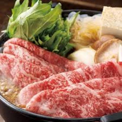 【お食事】《当館人気NO1・選べるいわて奥州牛プラン(2食付き)自慢の牛肉をしゃぶしゃぶorすき焼》