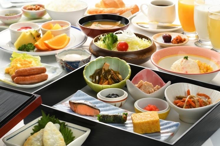 【お食事】《ご朝食》バイキング