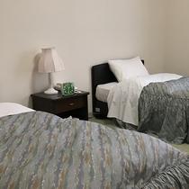 【客室】《ベッド付き禁煙・和洋室》