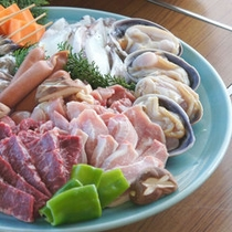 【スタンダードBBQ肉&海鮮】