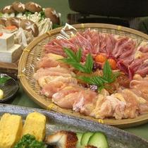 *【地鶏すき焼き】3種類からお好みのお鍋をお選びいただけます。