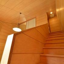 *【別館:コテージ】一階は掘りごたつ式談話室、二階は8畳和室です。