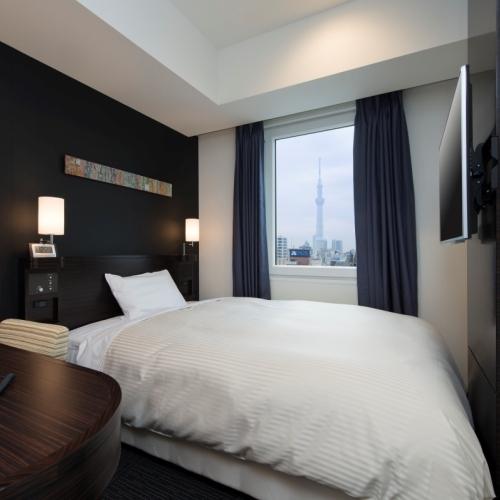 ワイドシングルシアター※眺望は客室により異なります。