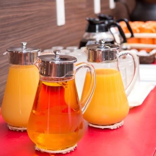 【朝食無料】フレッシュなジュースで朝から元気に!
