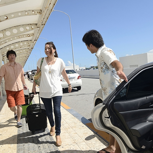 *那覇空港より宿まで送迎いたします。(要事前予約)