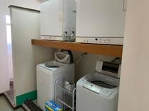 洗濯機・ガス乾燥機(無料)