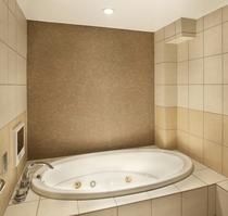 全室備付の内風呂1