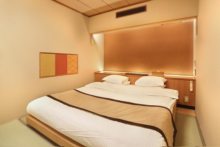 プレミアキングルーム 寝室