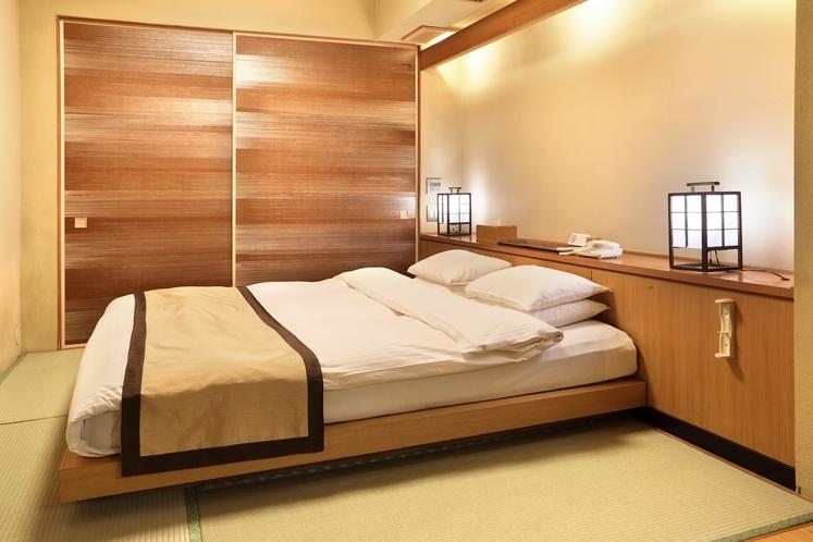 スタンダードルーム 寝室