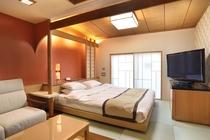 コンパクトダブルタイプ客室 居間+寝室