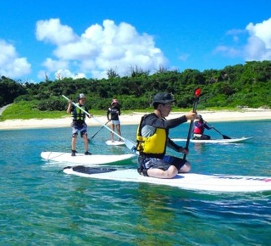 スタンドアップパドルサーフィンのツアー