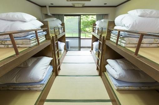 2段ベット8人部屋