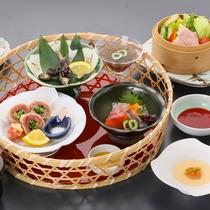 *2018夏【量より質●飛騨御膳~彩~】料理の質にこだわった御膳。女性やシニアの方にも人気です